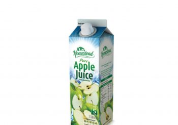 Homestead Pure Apple Juice 1ltr